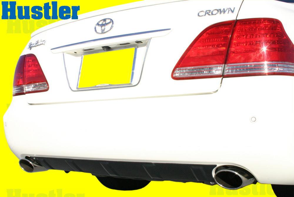 18系 クラウンロイヤル&アスリート ブラックカーボン ディフューザーパネル