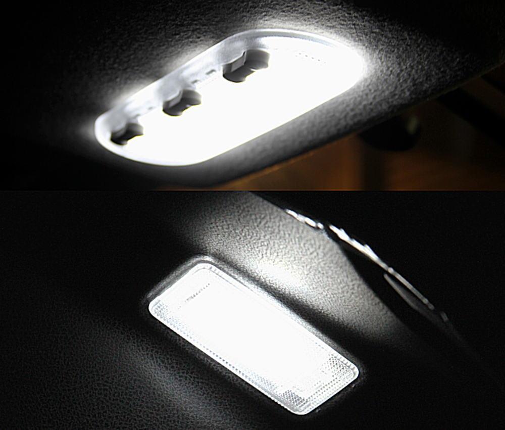 ジューク F15 専用 マップランプ/ラゲッジ LED ホワイト Set