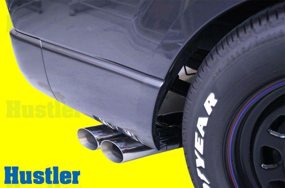 ハイエース/レジアス 200系 サイドスラッシュマフラー2本出 Set