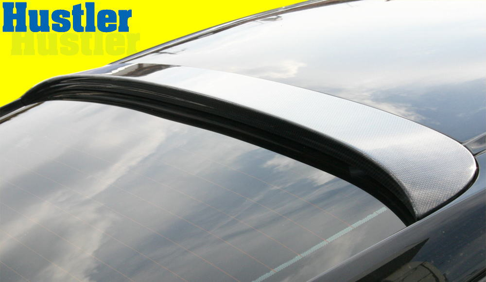 ポルシェ 911/997カレラ/カレラS ブラックカーボン ルーフスポイラー