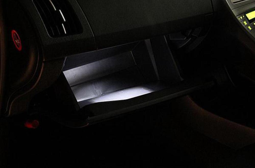 プリウス 30 専用 グローブBOX ホワイトLED 交換タイプバルブ