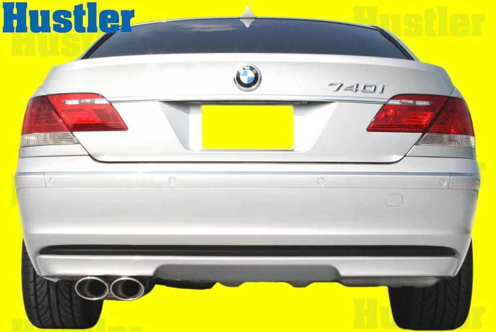 BMW E65 7シリーズ 前期&後期 2本出し オールステンレスタイコ付きマフラー&小物Set