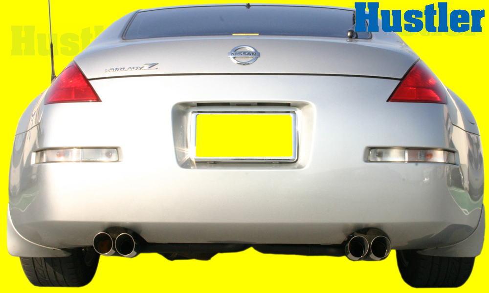 Z33 フェアレディZ スラッシュ4本出し スチール製パイプ/タイコレスマフラー&小物Set