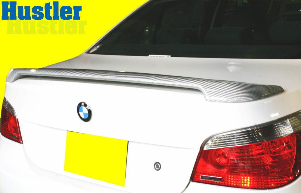 BMW E60 5シリーズ シルバーカーボン トランクスポイラー M1