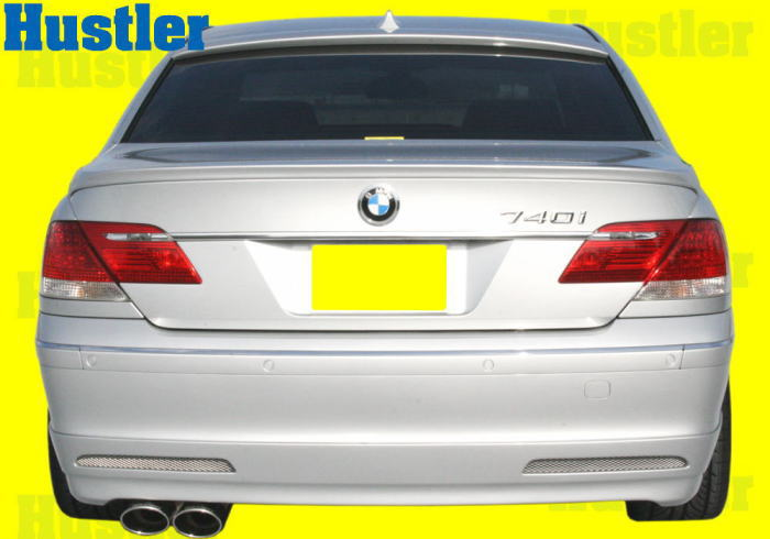 BMW E65&E66 7シリーズ 後期用 ショート&ロング リアハーフスポイラー&メッシュ