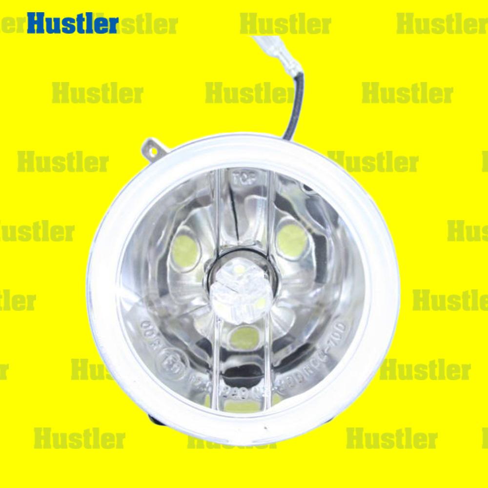 ブラバス/ロリンザーエアロ用 LEDフォグ&リレー&スイッチSet 2