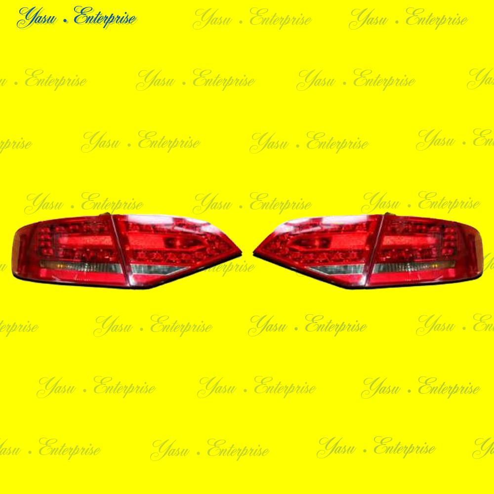 AUDI A4 B8 セダン LEDレッド&スモークテール DEPO