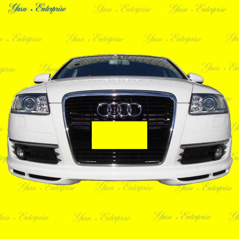 アウディ A6 C6系 セダン&ワゴン フロントハーフスポイラー