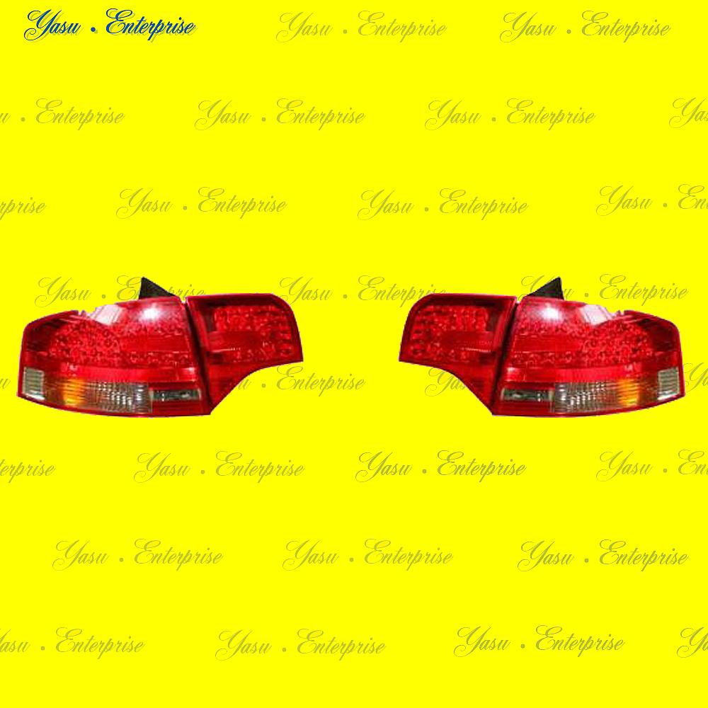 AUDI A4 S4 RS4 B7 セダン用 LEDレッド&スモークテール DEPO