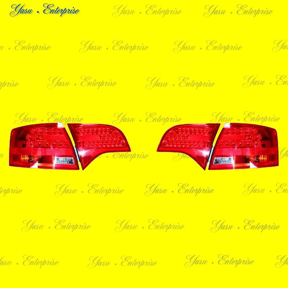 AUDI A4 8E B7 ワゴン用 LEDレッド&クリアテール DEPO