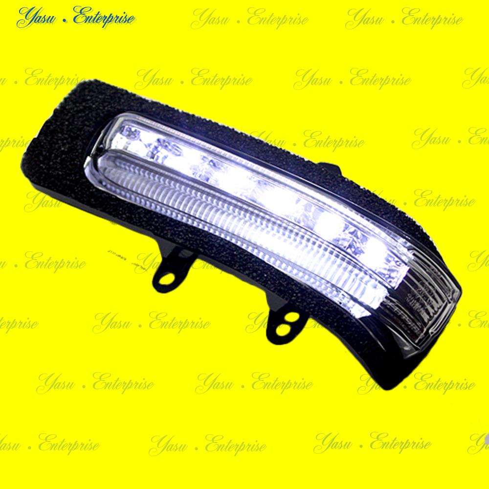 ラッシュ LEDドアミラーウィンカー&デイライト ホワイトライン クリアレンズ