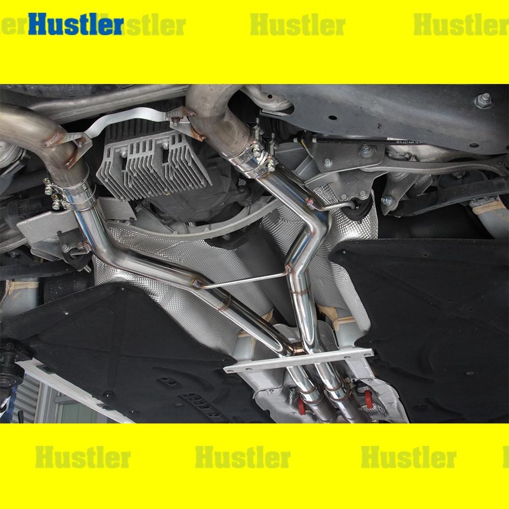 ベンツ W221 S63 AMG オールステンレス 中間ストレートマフラー
