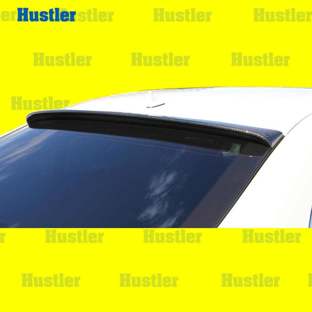 ベンツ W221 Sクラス 中期/後期 ブラックカーボン本物 ルーフスポイラー