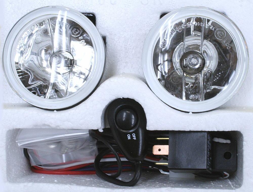 ブラバス/ロリンザーエアロ用 フォグ 2個 リレー スイッチSet 2