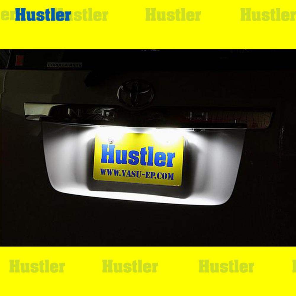 ヴォクシー&ノア 70系 角度付 専用 ナンバー灯 LED ホワイト