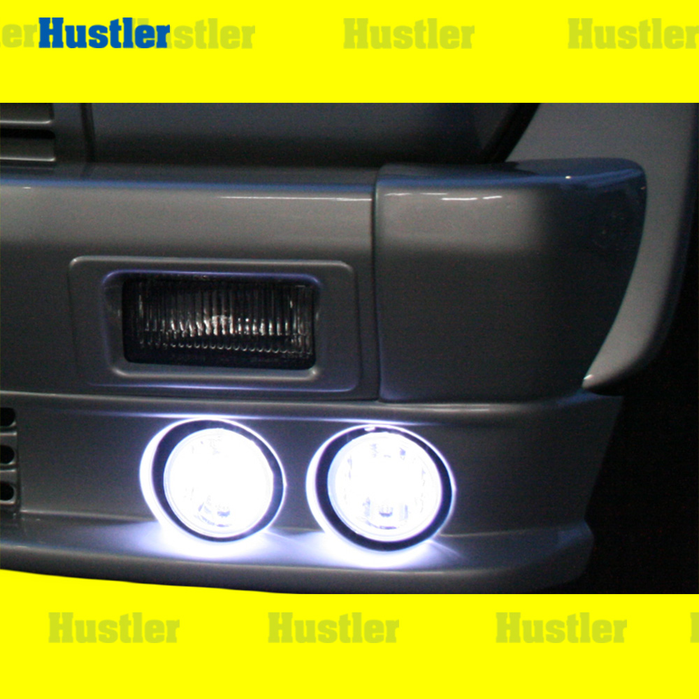 ブラバス/ロリンザーエアロ用 LEDフォグ&リレー&スイッチSet