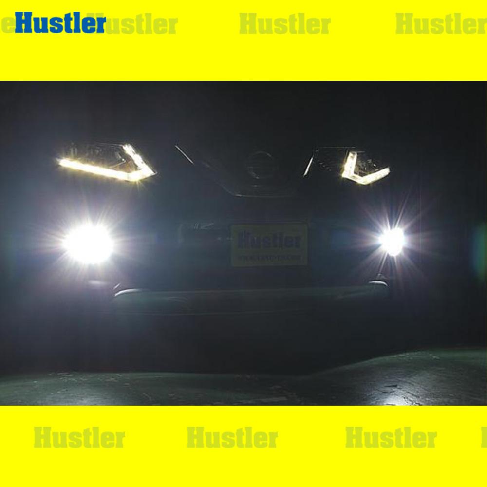 エクストレイル T32 専用 フォグランプ スーパーホワイト LED