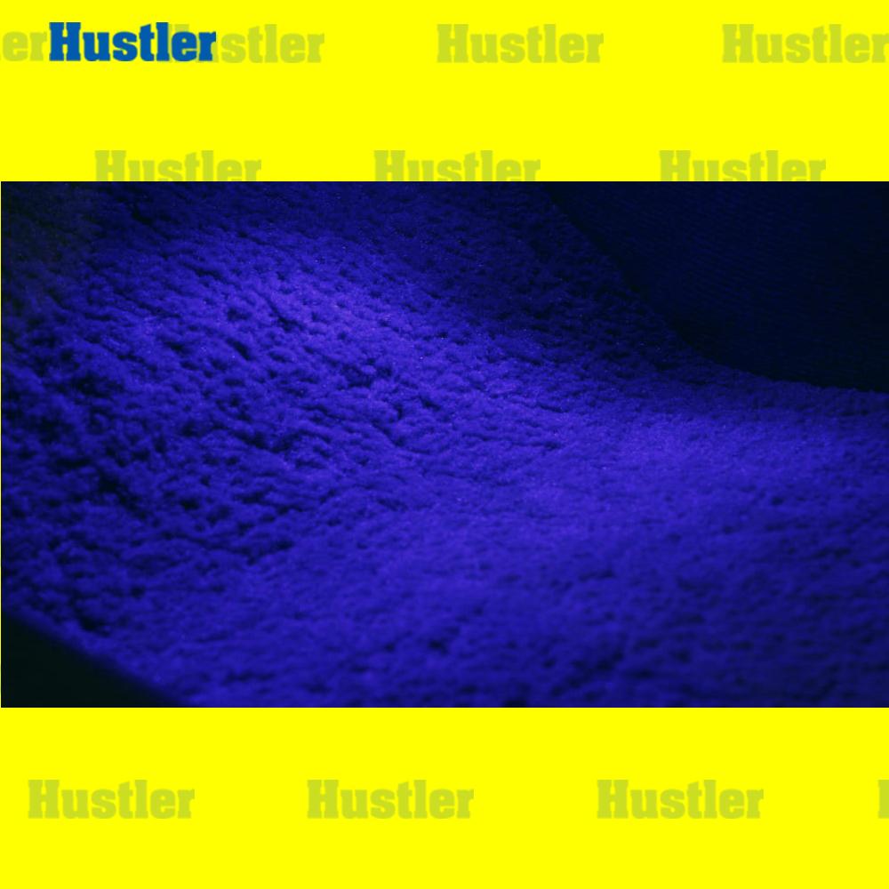 ハリアー フット グローブボックス コンソールボックス LEDバルブ ブルー