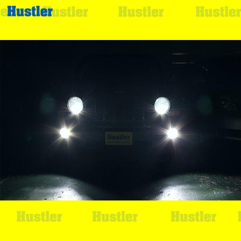 クライスラー JEEP ジープ パトリオット専用 フォグランプ スーパーホワイト LED