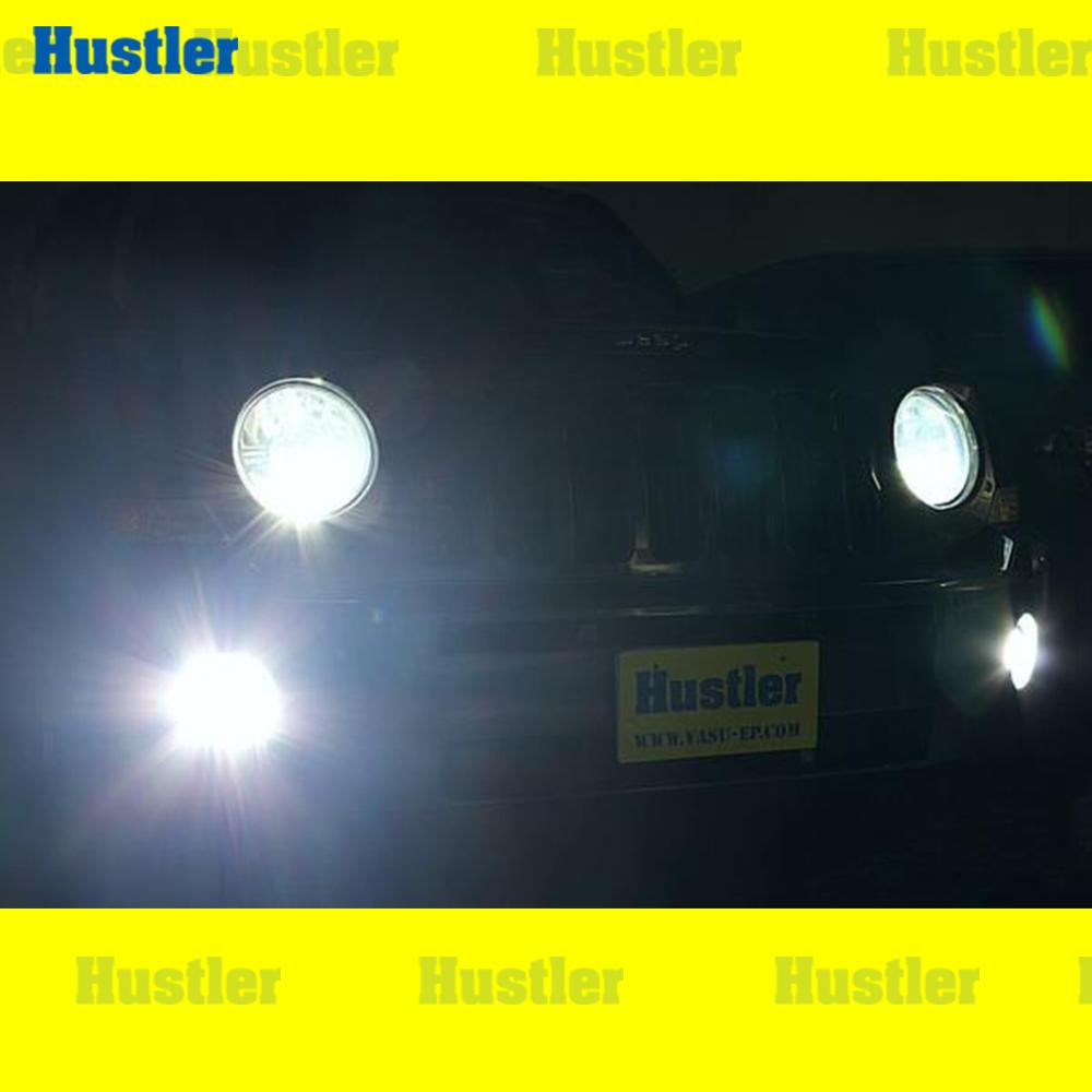クライスラー JEEP ジープ パトリオット専用 ポジションバルブ(車幅灯) スーパーホワイト LED