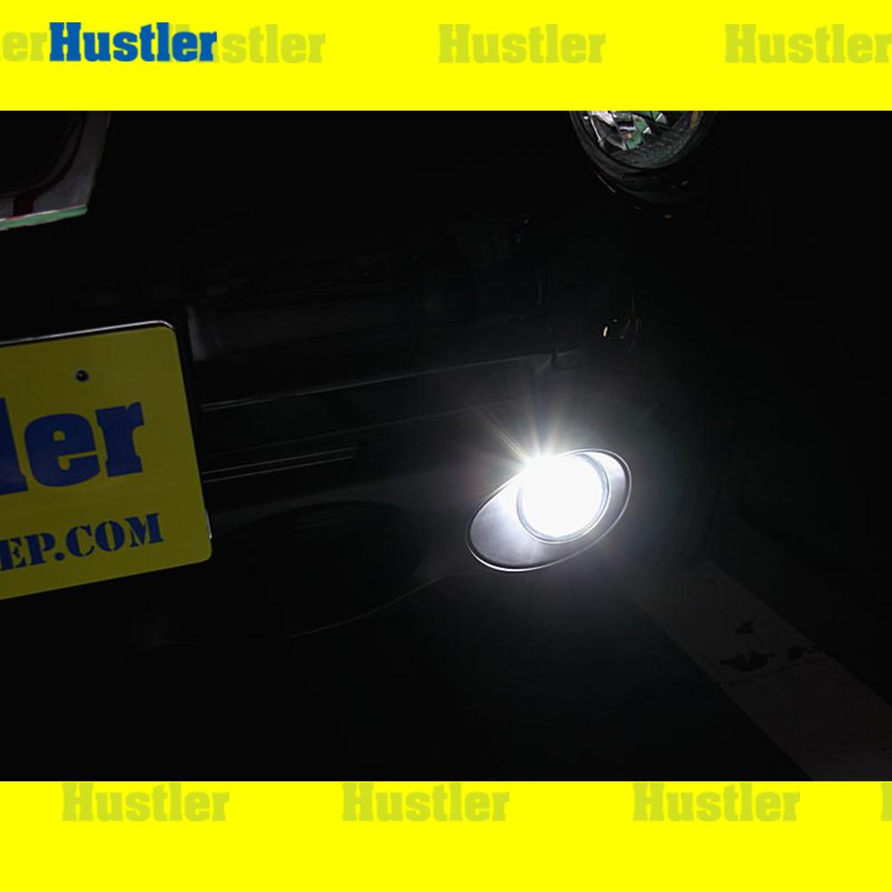ジューク 専用 LED フォグランプ スーパーホワイト 左右Set
