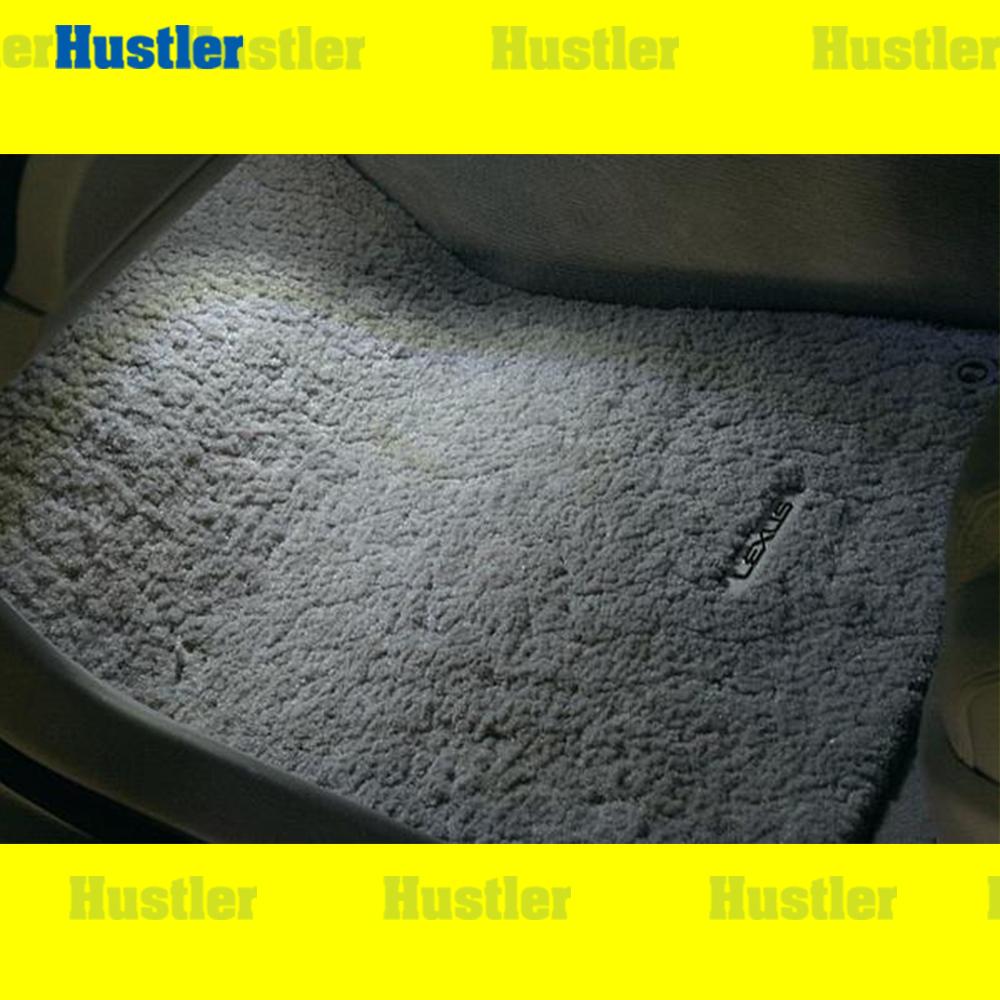 レクサス GS専用 フットランプ ホワイトLED 交換タイプバルブ