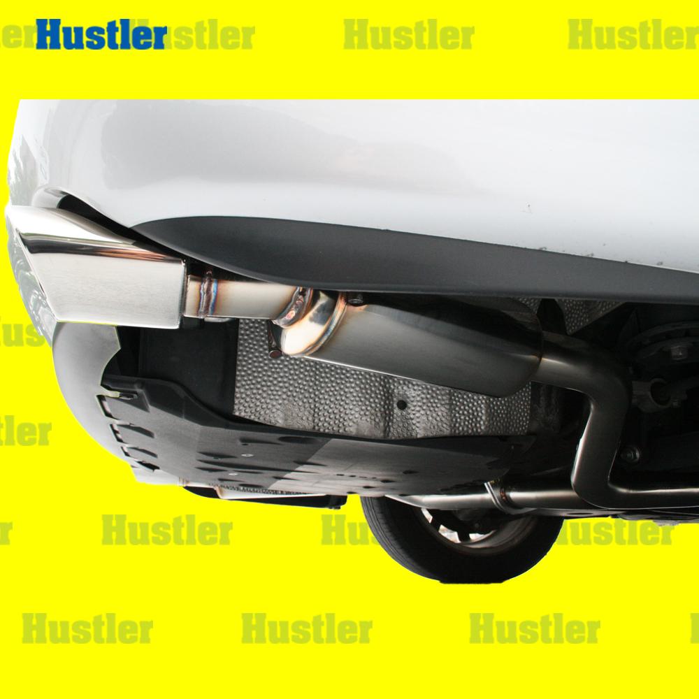 レクサス GS430/GS350 オールステンレス製丸タイコ付/両側オーバル2本出しテールマフラー 左右2本出 小物Set