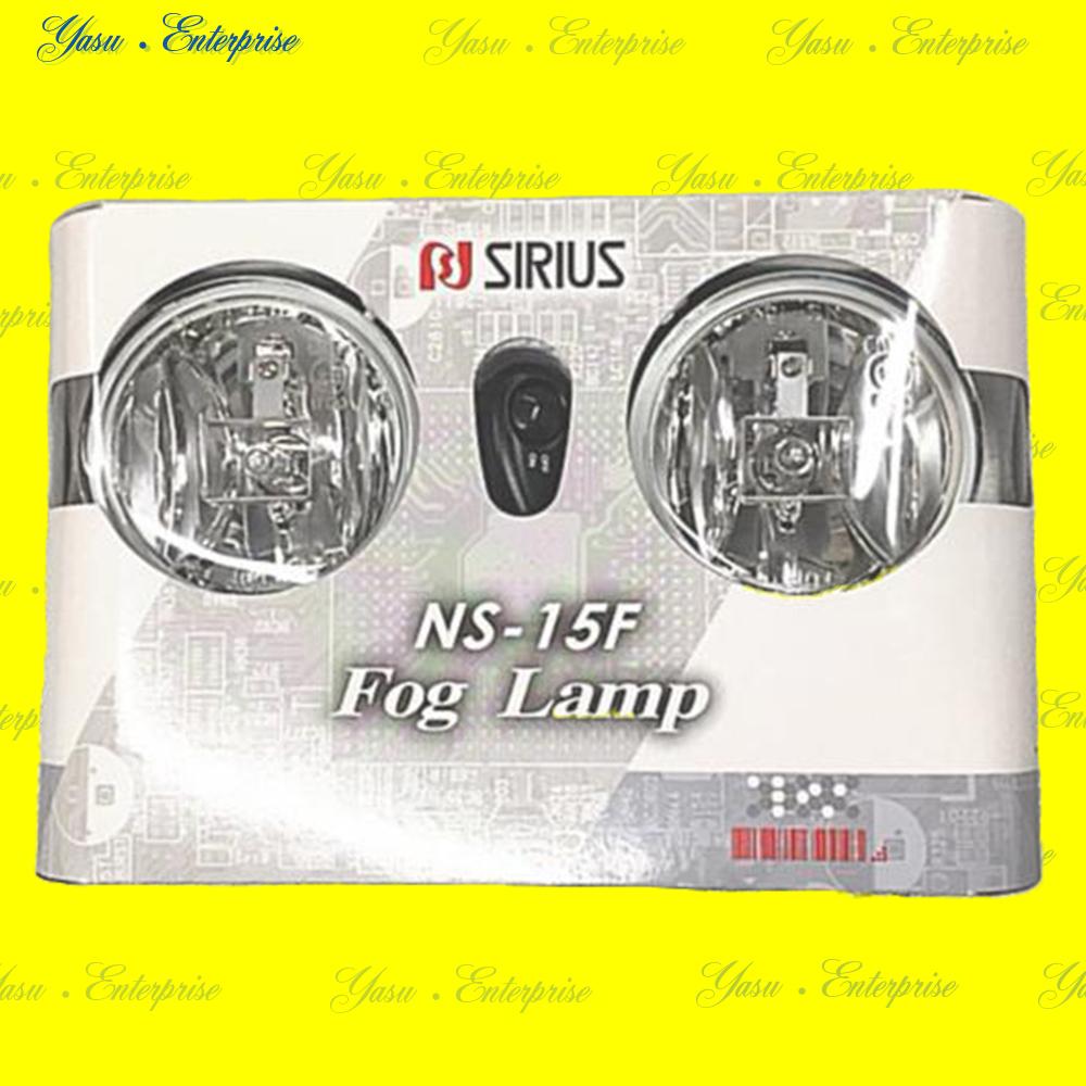 シリウス NS-15F ハロゲンランプ&電源配線/スイッチ/リレーSet