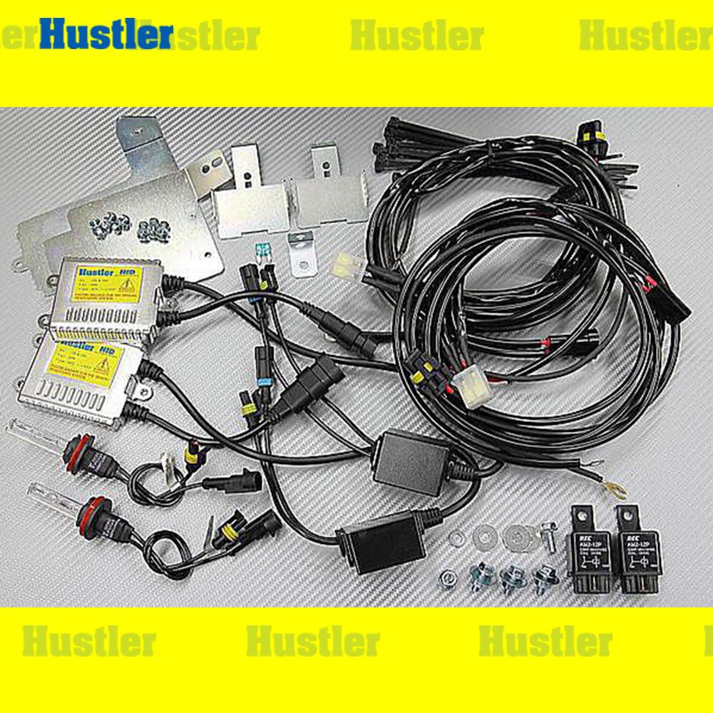 プリウス30/アルファ40 ロービーム専用簡単取付 HIDキット 5000K
