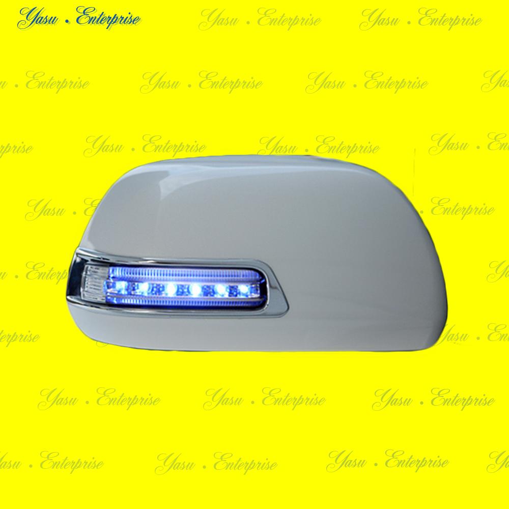 ラクティス LEDドアミラーウィンカー&デイライト ブルーライン スモークレンズ