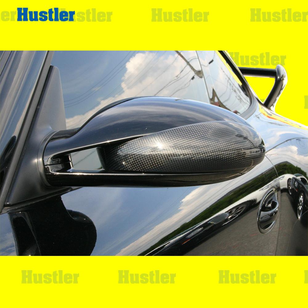 ポルシェ 911/997&987 ブラックカーボン ドアミラーカバー