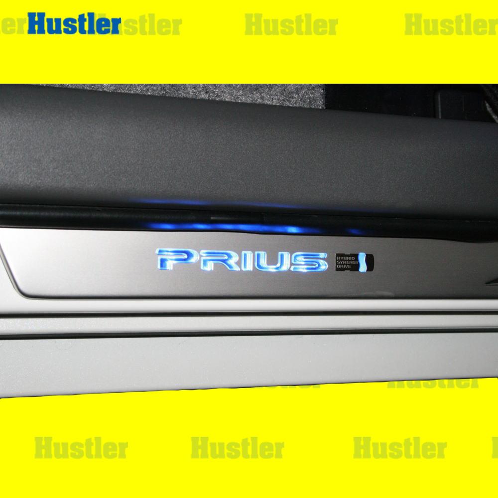 プリウス ZVW30 USプリウス 北米純正品 LEDスカッフプレート