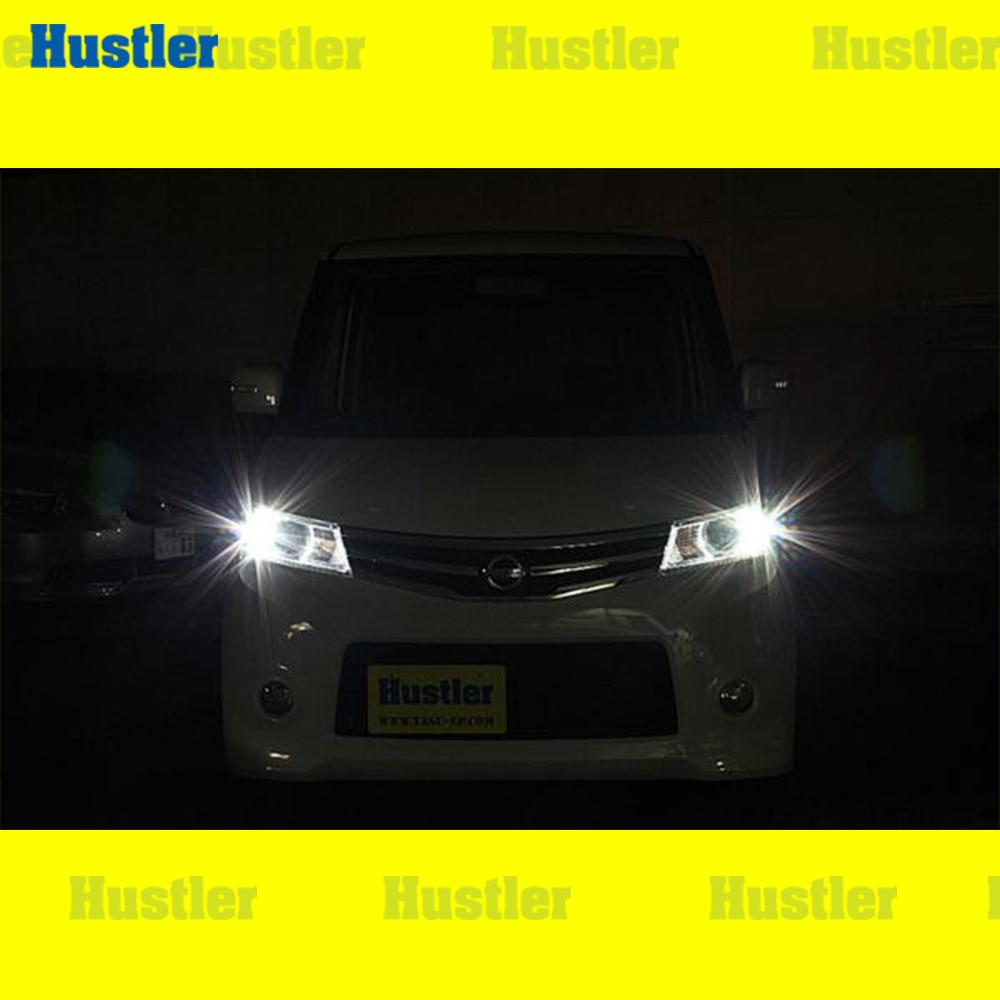 日産 ルークス ML21S 車幅灯(ポジションバルブ) スーパーホワイト LED