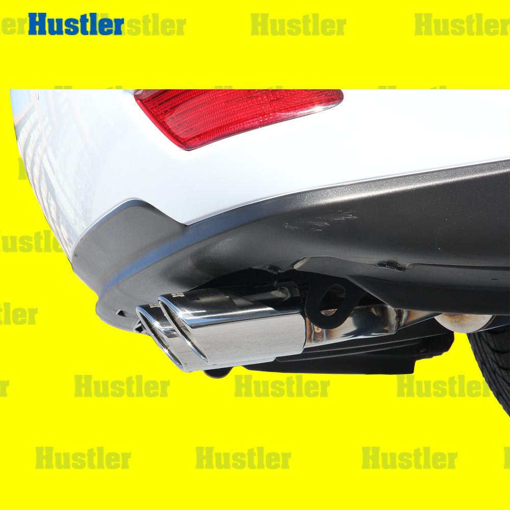 レクサス RX450h オールステンレス オーバルテール タイコ付 片側2本出マフラー