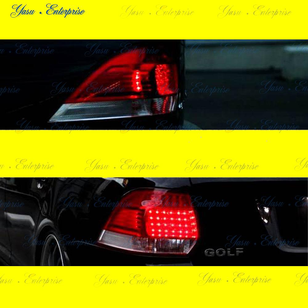 VW GOLF5 6 ゴルフ6 5 ヴァリアント LEDレッド&クリアテール DEPO