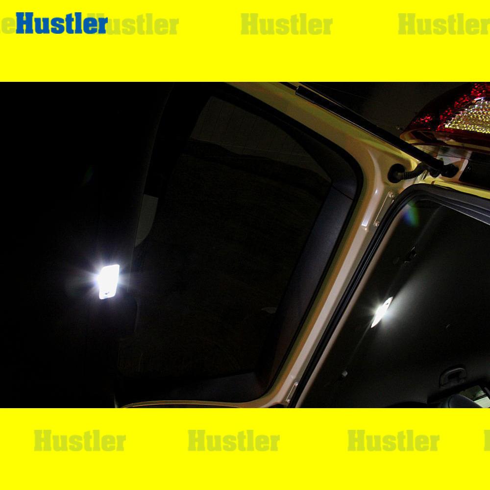 エクストレイル T31 専用 マップ/ルーム/ラゲッジ LED ホワイト